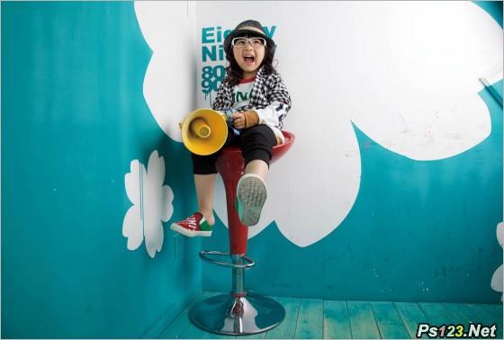 怎样利用小空间拍摄出别具创意的儿童摄影作品