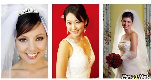 专业摄影师为你出招新娘美姿这样摆
