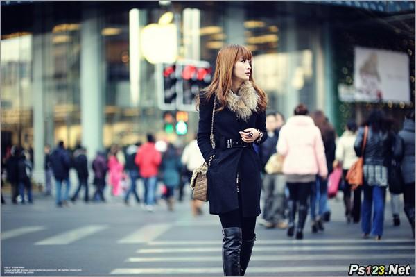 街拍摄影 网罗美女实用技巧大公开