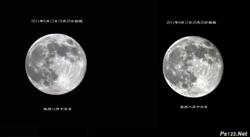如何拍摄好月亮的特写