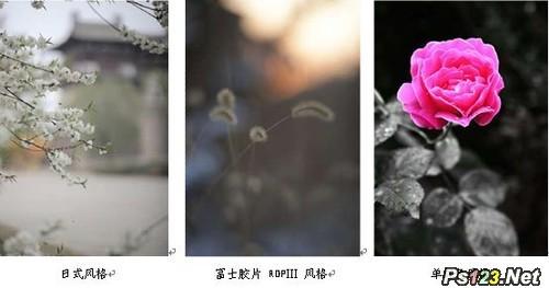 Canon佳能照片风格文件*.pf2的使用方法和应用教程