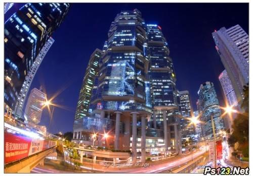 摄影曝光的掌控:运用黑卡和长时间曝光技巧获得梦幻的城市照片