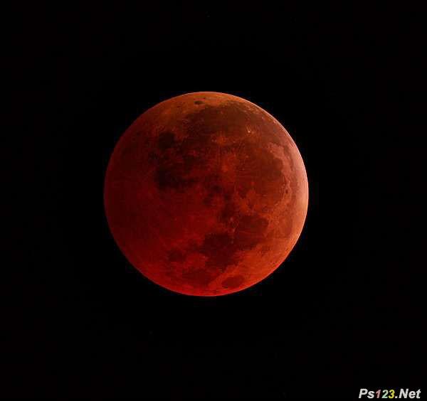 月全食的N种拍法 三联