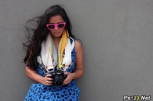 超简单的DIY个性相机背带方法 三联教程