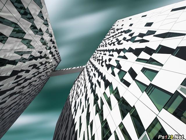 换个角度拍建筑