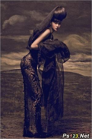 艺术人像摄影与婚纱摄影的区别 三联