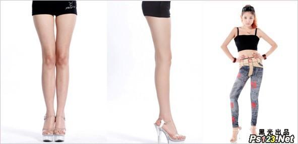 腿型在美姿设计中的应用  三联