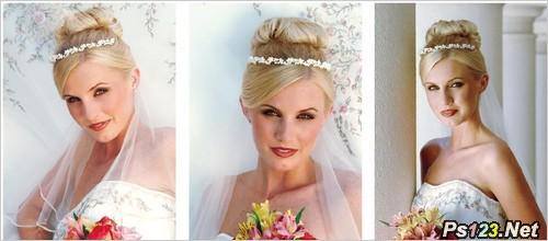 专业摄影师为你出招 新娘美姿这样摆 人像摄影