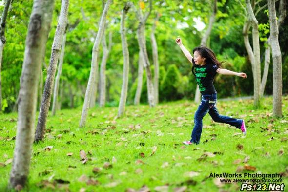 儿童摄影中的对焦设置及操作 三联