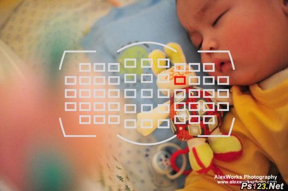 儿童摄影中的对焦设置及操作 儿童摄影
