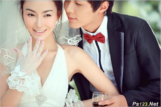 婚纱外景拍摄中长焦镜头的应用 三联