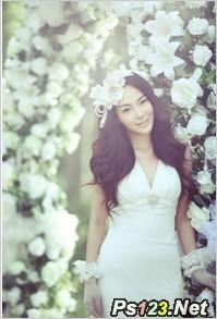 谈婚纱外景拍摄中长焦镜头的应用