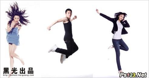 跳跃的美姿