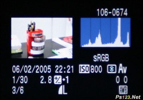 如何看数码相机的直方图 三联教程