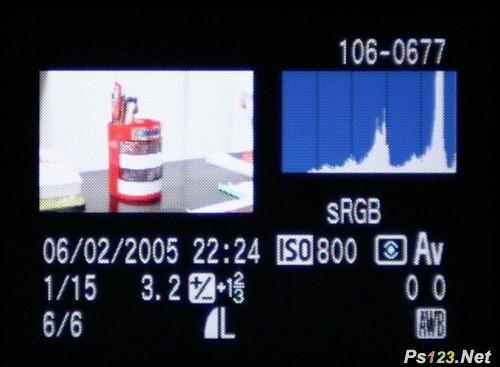 如何看数码相机的直方图