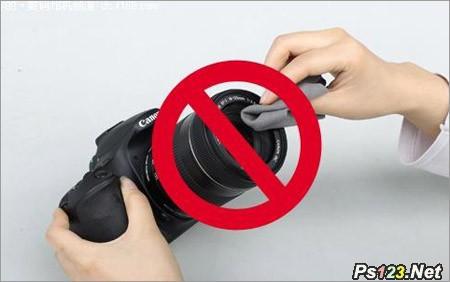 镜头的保护方法