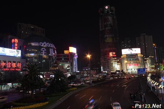 夜景拍摄分析:城市夜景拍摄技巧 三联教程