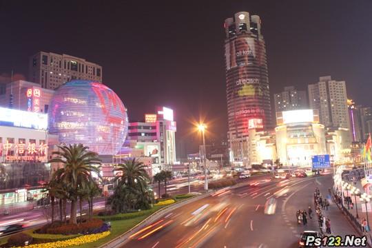 夜景拍摄分析:城市夜景拍摄技巧