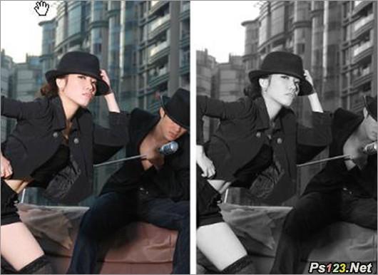 黑白照片摄影要领