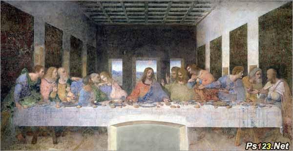 绘画巨匠的摄影遗产:达芬奇