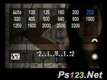 技巧1-积极更改ISO感光度
