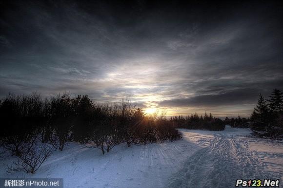 拍摄雪景如何正确曝光 三联教程
