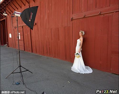 户外婚纱人像照明技巧 三联