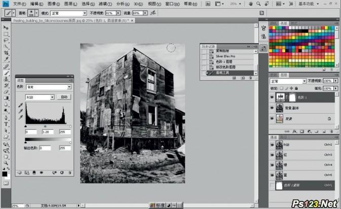 找回烈阳下的建筑层次 建筑摄影知识