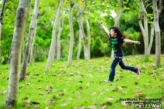 儿童摄影中的对焦设置及操作 捕捉动感