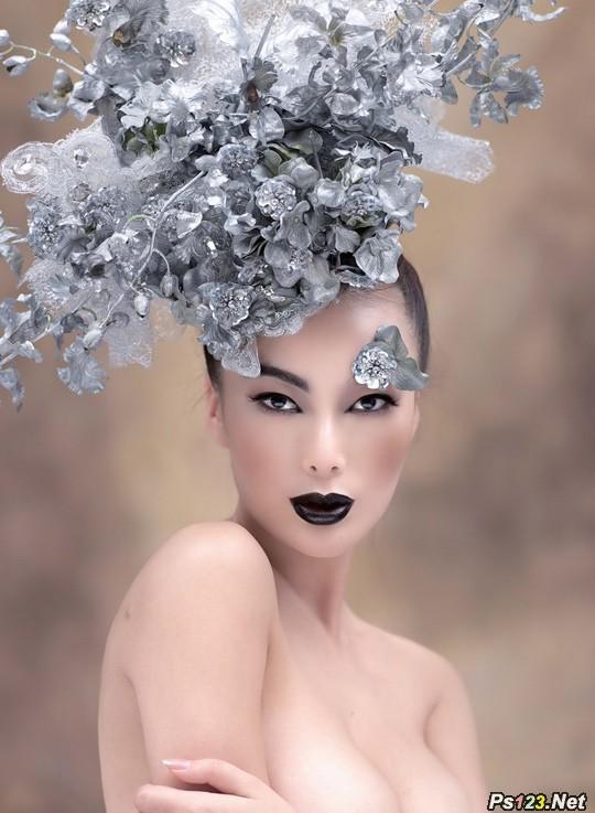 摄影师必知的彩妆用光常识、规律和技法(一)