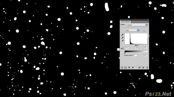PS制作水雾玻璃上的文字效果 飞特网 PS文字效果教程