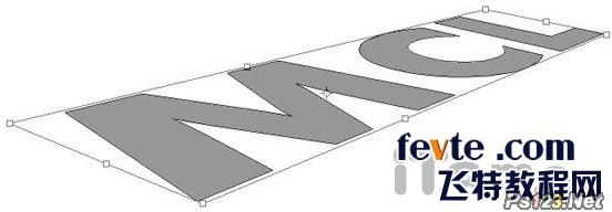 PS制作一款三维立体字 飞特网 PS文字效果教程