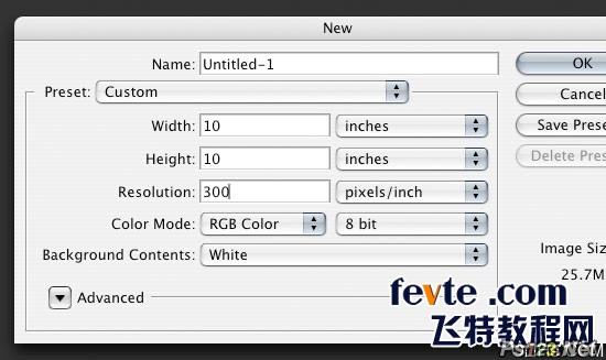 用PS制作三维文字的简单方法 飞特网 PS文字效果教程20-04_remarkable_3d_text_s01