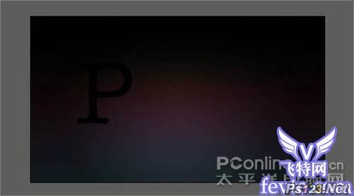 Photoshop字体特效:渐变色彩光效字教程