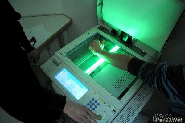 德国创意复印机手势字体JoséErnestoRodriguez