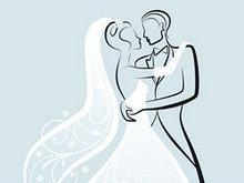 精美线稿婚礼背景矢量图3