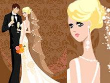 婚礼卡片背景-矢量图