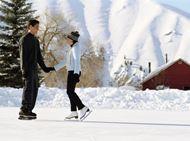 冬季情侣浪漫图片