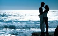 唯美情侣拥抱图片