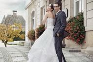 欧美情侣婚纱照图片