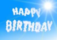 生日快乐英文背景图片