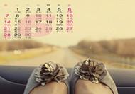2015年6月日历表