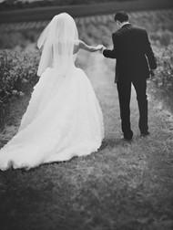 黑白婚纱照图片