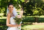 美女婚纱摄影图片