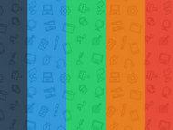 5种漂亮的icon背景样式(PS图案预设)
