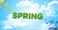 Spring春季活动海报PSD素材