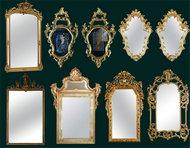 欧式镜框边框PSD素材