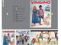 vingino.com网站界面设计