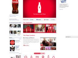 Facebook品牌页面设计欣赏