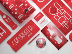 Coca-Cola活动VI设计